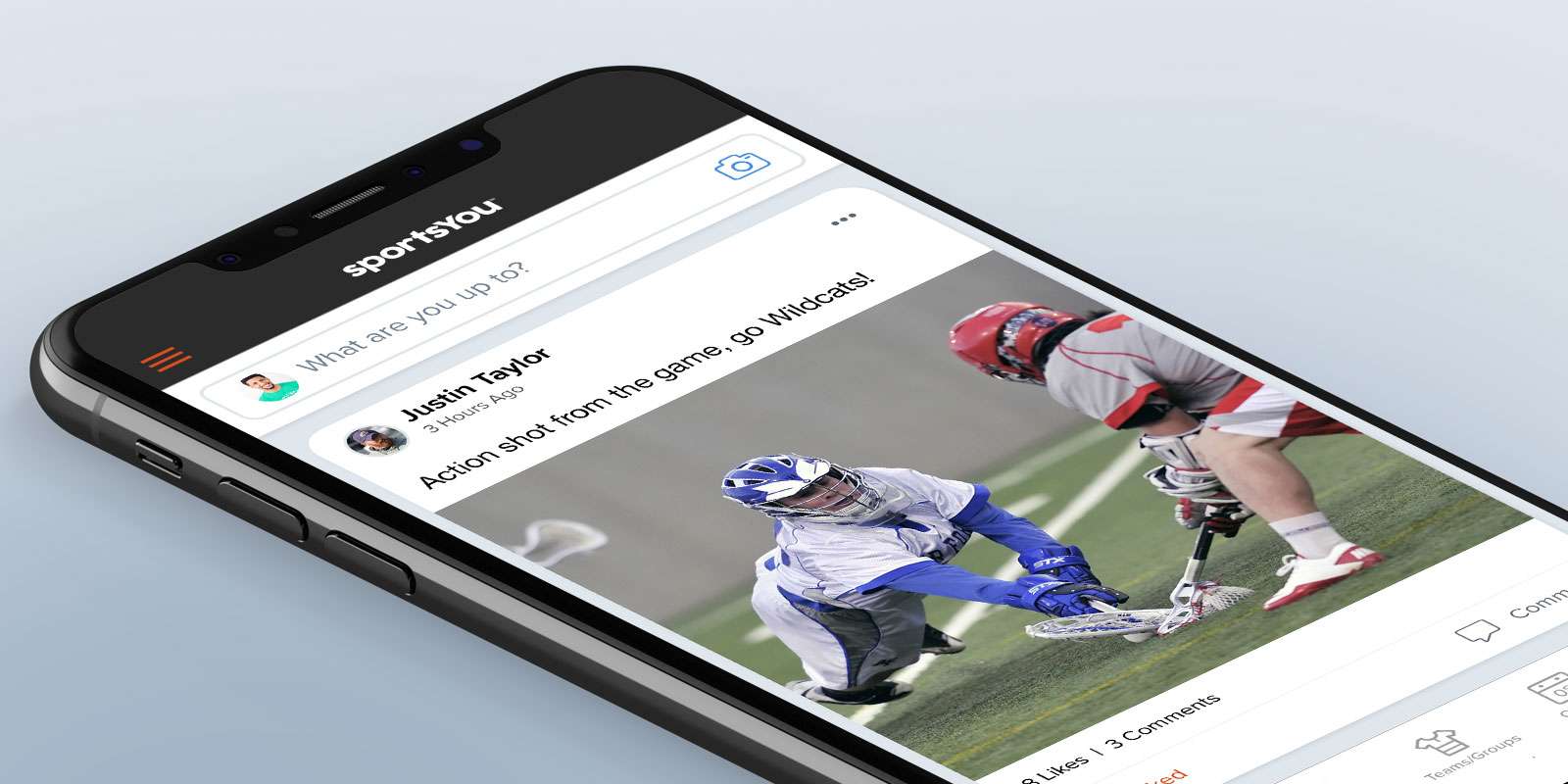Presenting a fresh new look for the feed on the sportsYou app